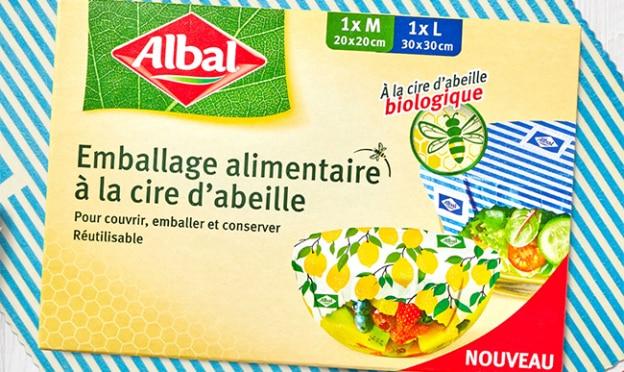 Test Albal : Emballages alimentaires à la cire d'abeille gratuits