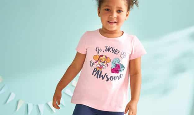 Lidl : Vêtements enfants Peppa Pig, Pat Patrouille… pas chers