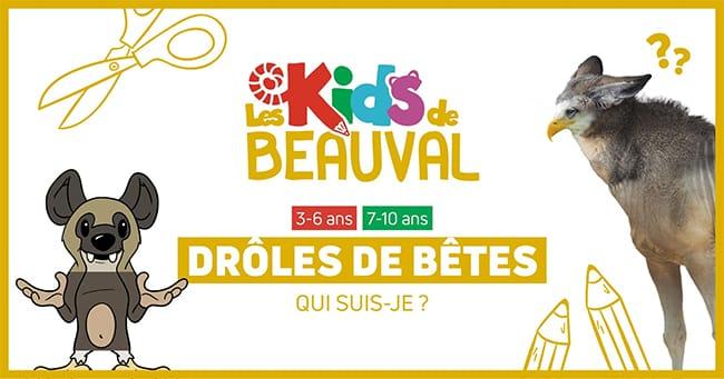 Imprimez gratuitement les activités offertes par le ZooParc de Beauval