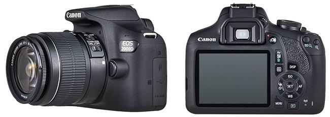 Tentez de gagner un appareil photo Reflex Canon 2000D avec Rakuten