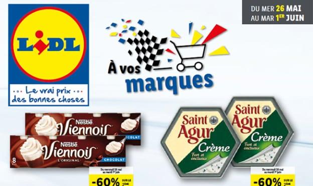 Catalogue Lidl promo marques de mai 2021