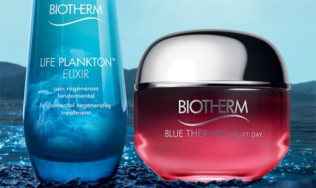 Échantillons gratuits Biotherm de sérum et de soin anti-âge