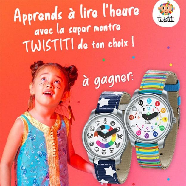 Jeu Gulli : 10 montres Twistiti pour apprendre à lire l'heure