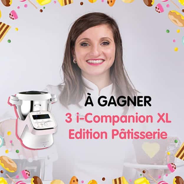 Jeu Moulinex : Robots I-compagnon XL Pâtisserie à gagner