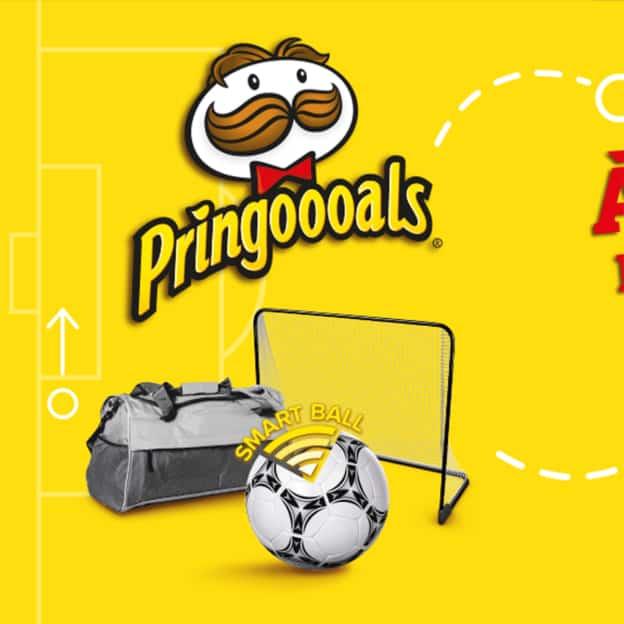 Jeu Pringoooals de Pringles : 20 cadeaux à gagner