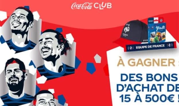 Jeu Coca-Cola Club FFF