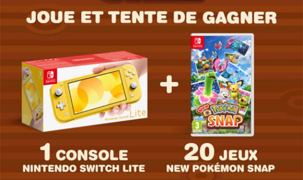 Jeu Journal de Mickey : Nintendo Switch Lite + 20 jeux Pokémon