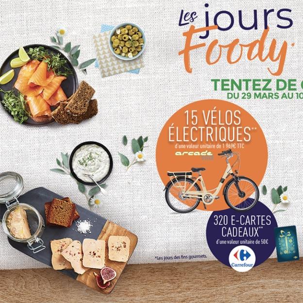 Grand jeu Les Jours Foody de la Maison Foody