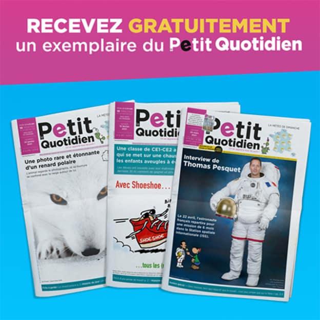 Journal Le Petit Quotidien gratuit