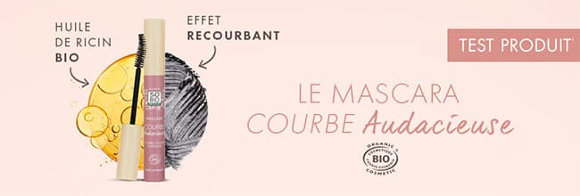 Testez le nouveau mascara Courbe Audacieuse So'BiO étic