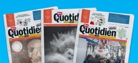 Journal Mon Quotidien gratuit : Recevez un exemplaire papier !
