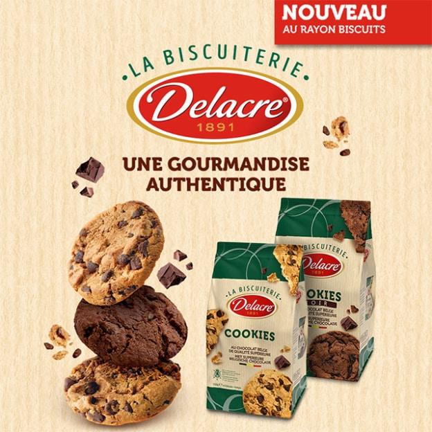 ODR Shopmium : Cookies Delacre gratuits car 100% remboursés