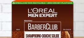 Test L'Oréal Men : 230 shampooings-douche solides gratuits