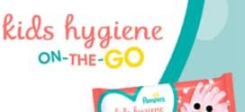 Test Pampers : Ligettes nettoyantes pour enfants