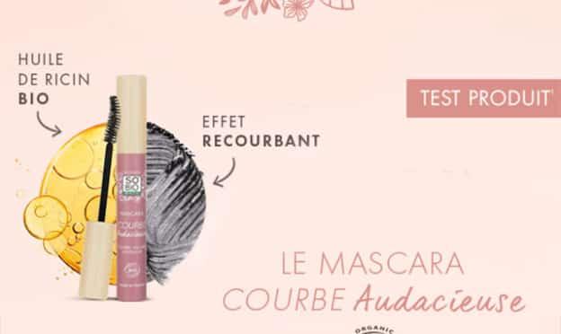 Test SO'BiO étic : Mascara Courbe Audacieuse gratuits