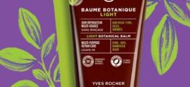 Test du baume botanique light Yves Rocher : 150 gratuits