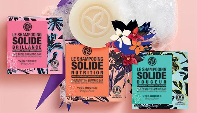 tester gratuitement un shampooing solide Yves Rocher