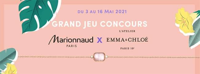 Gagnez un bracelet Panacea Emma & Chloé avec Marionnaud