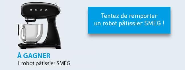 Tentez de gagner un robot pâtissier SMEG avec Logic Immo