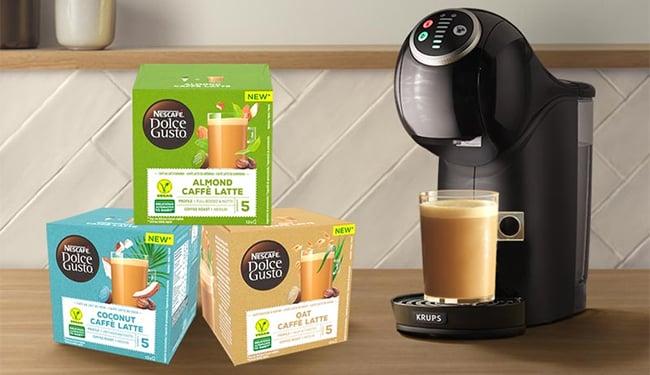 Testez gratuitement les boissons végétales Nescafé Dolce Gusto