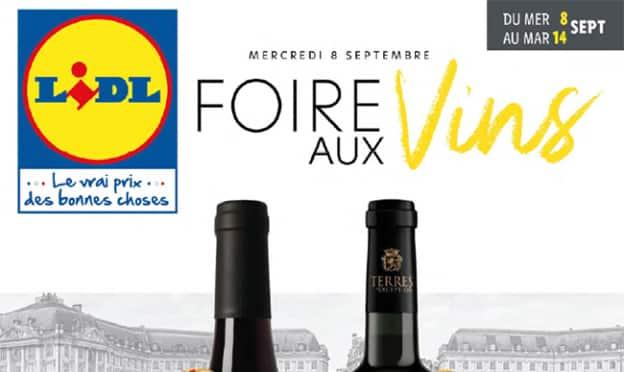 Catalogue Foire aux vins Lidl