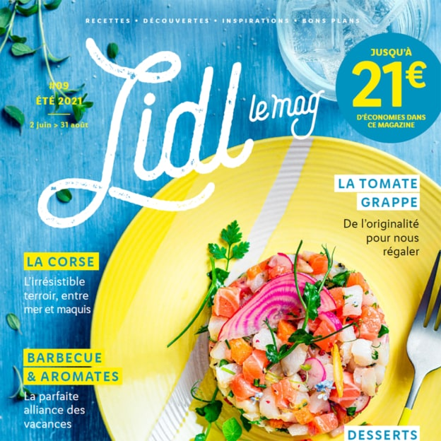 Catalogue Lidl Le Mag Été 2021 : Promos, bons de réduction…