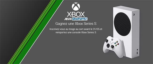 Remportez une console Xbox Series S avec Jeux-gratuits.com
