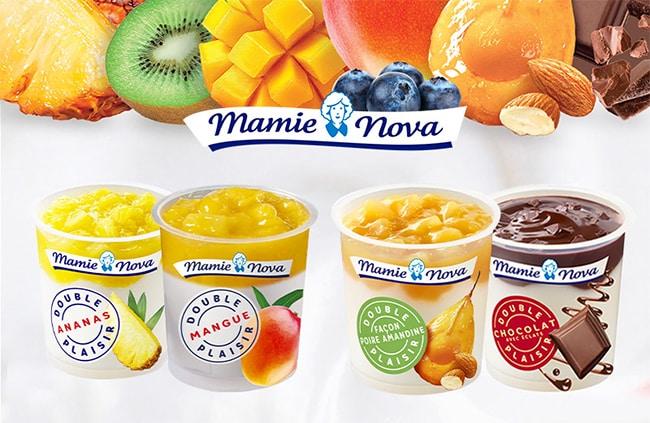 Testez gratuitement les desserts Double Plaisir de Mamie Nova avec Sampleo