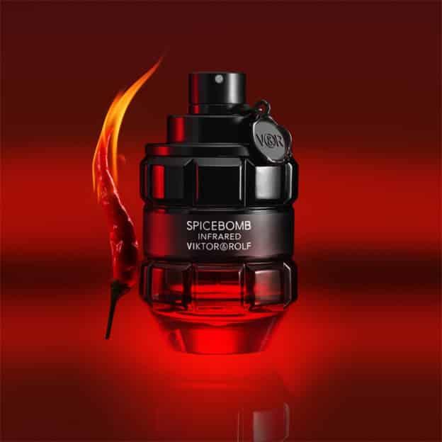 Échantillon gratuit du parfum Viktor & Rolf Spicebomb Infrared