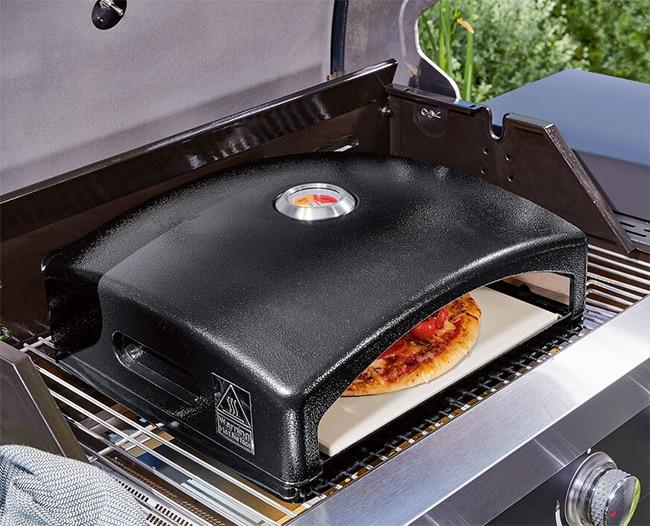 Four à pizza pour barbecue à gaz ou à charbon à petit prix chez lidl