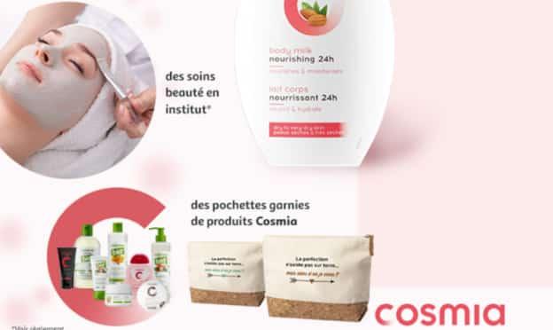 Jeu Auchan : séjours en thalasso et soins Cosmia à gagner