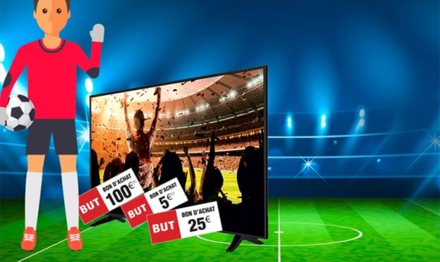 Jeu Les Jours But : TV 4K et bons de réduction à gagner