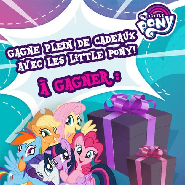 Jeu Gulli : Cadeaux My Little Pony à gagner