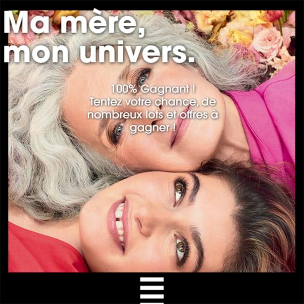 Jeu Sephora Fêtes des Mères : cadeaux beauté à gagner