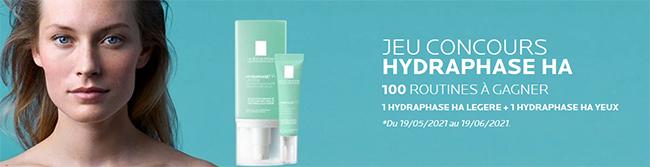 Tentez de gagner des soins Hydraphase HA de La Roche-Posay