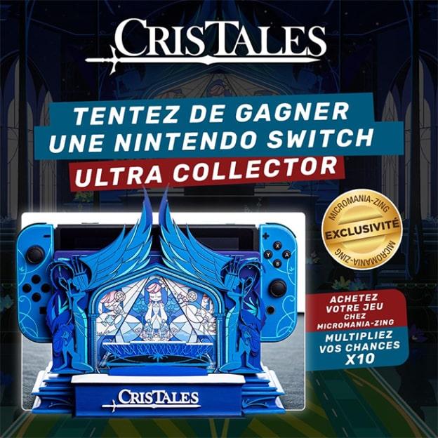 Jeu Micromania : Nintendo Switch Cris Tales Collector à gagner