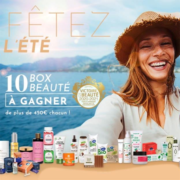 10 Beauty Bags (avec + de 450€ de produits de beauté) à gagner