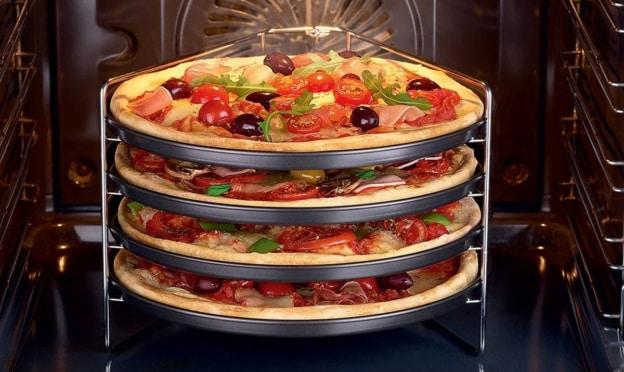 Lidl : Set de cuisson pour pizzas Zenker pas cher