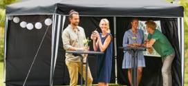 Lidl : Tonnelle pliante en aluminium Florabest à 74,99€
