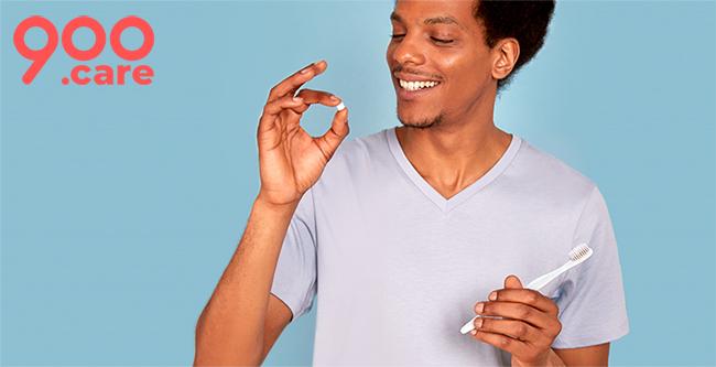 Recevez des pastilles gratuites de Dentifrice à croquer 900.care