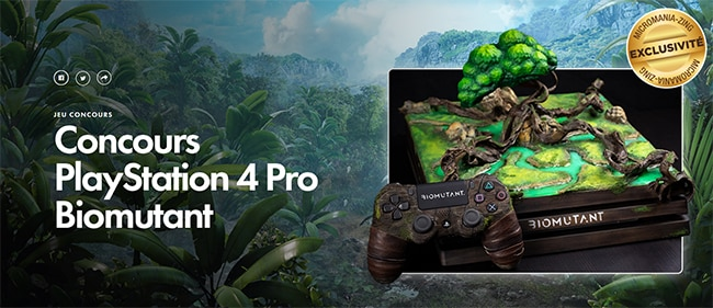 Tentez de gagner la PlayStation 4 Pro Ultra Collector avec Micromania