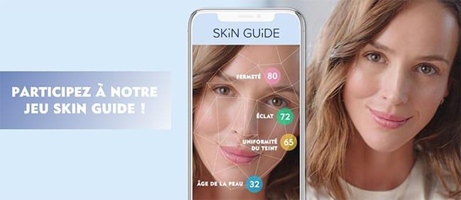 Tentez de remporter un ensemble de 3 soins avec le jeu Skin Guide de Nivea