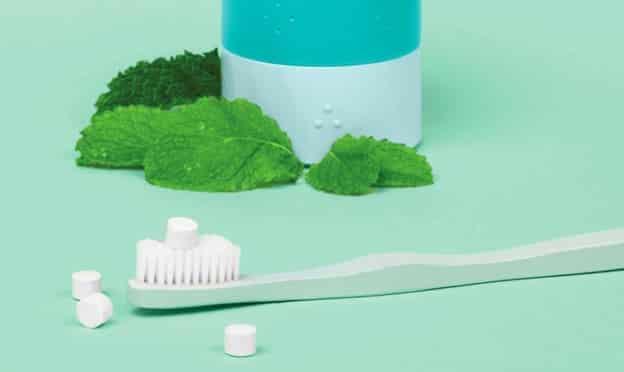 Echantillons du dentifrice à croquer 900.care gratuits