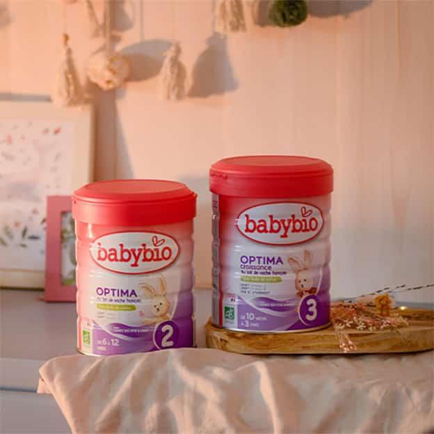 Test Sampleo : Packs Babybio lait infantile gratuits