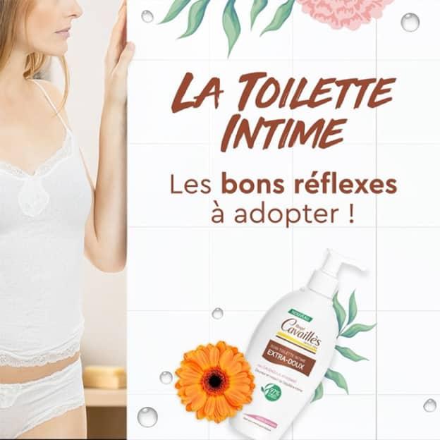test gratuit du soin lavant intime Extra-Doux Rogé Cavaillès avec Aufeminin