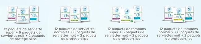 Remportez 1 an de produits hygiéniques Soft Pure avec Carrefour