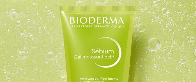 Testez gratuitement le gel moussant actifs Sébium de Bioderma