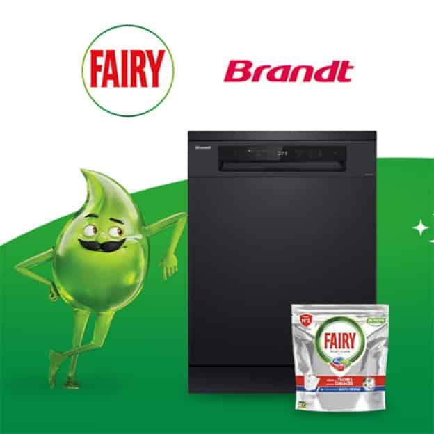 Jeu Envie de Plus : 2 lave-vaisselle + 3 mois de Fairy à gagner