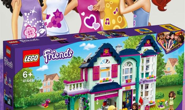 Jeu Gulli : Maison d'Andréa LEGO Friends à gagner