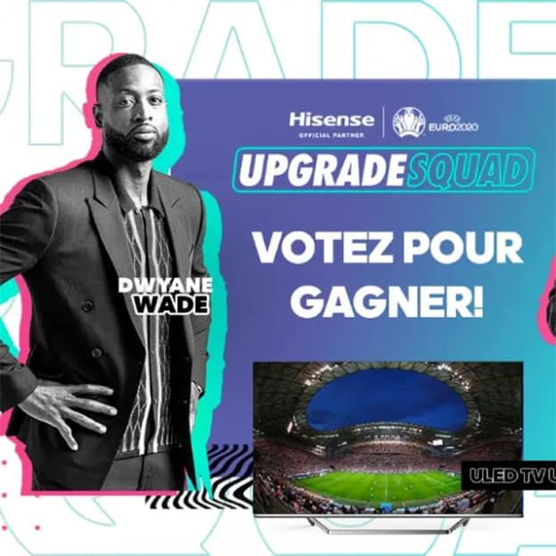Jeu Hisense Euro 2020 : 6 téléviseurs et 1 réfrigérateur à gagner